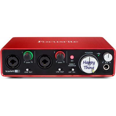 Аудиоинтерфейс Focusrite Scarlett 2i2 2nd Gen