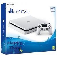 Приставка Sony PlayStation 4 Slim 500 Gb white