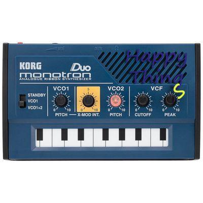 Синтезатор Korg Monotron Duo