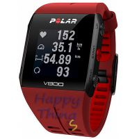 Пульсометр Polar V800 GPS red