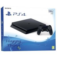 Приставка Sony PlayStation 4 Slim 500 Гб black